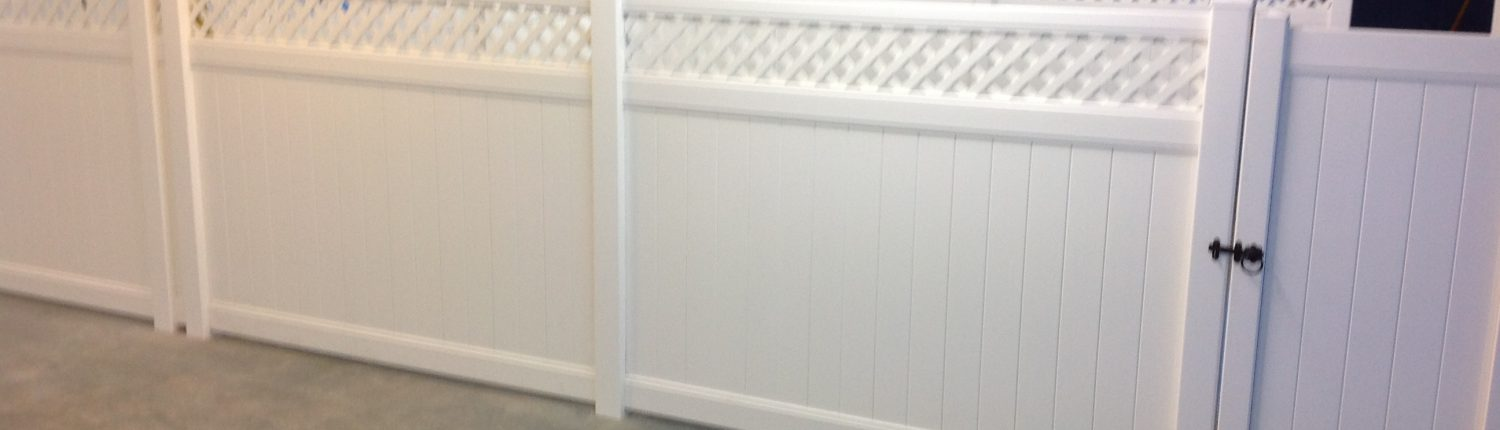 Indoor Plastic Fencing
